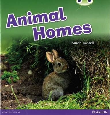 Bug Club Non-fiction Pink B Animal Homes by Sarah Russell