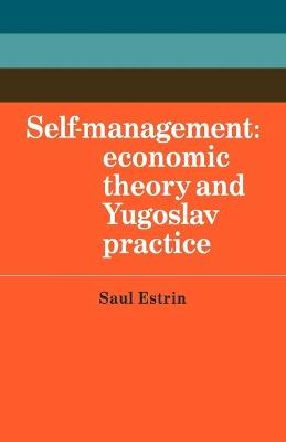 Self-Management by Saul Estrin