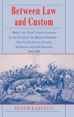Between Law and Custom book