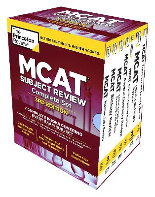 Princeton Review MCAT Subject Review Complete Box Set book