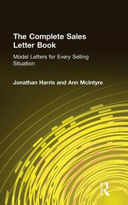Complete Sales Letter Book by Jonathan Harris