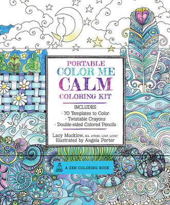 Portable Color Me Calm Coloring Kit by Lacy Mucklow