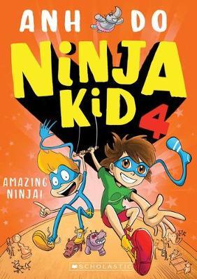 AMAZING NINJA #4 book