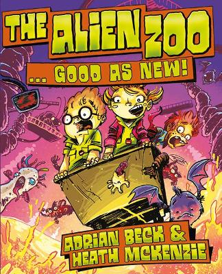 The Alien Zoo   Good as New! by Adrian Beck