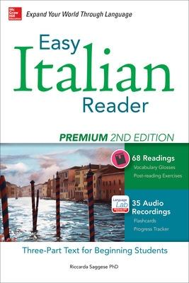 Easy Italian Reader, Premium by Riccarda Saggese
