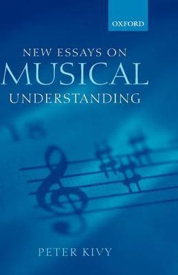 New Essays on Musical Understanding book