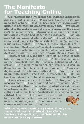 The Manifesto for Teaching Online by Sian Bayne