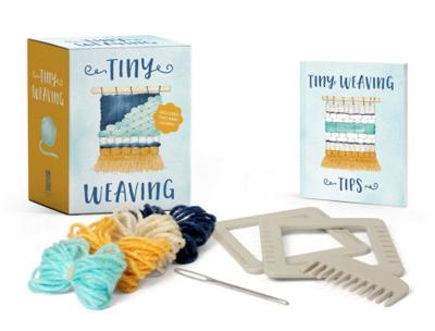 Tiny Weaving: Includes Two Mini Looms! by Running Press