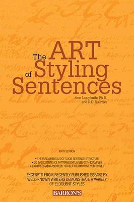Art of Styling Sentences book