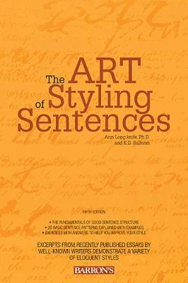 Art of Styling Sentences book