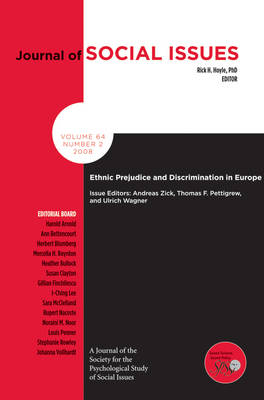 Prejudice and Discrimination in Europe by Thomas F. Pettigrew