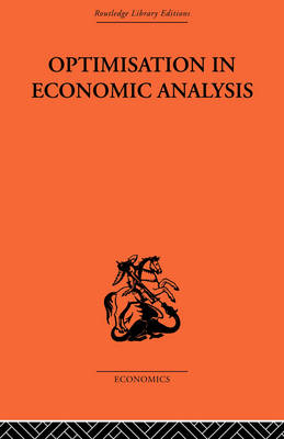 Optimisation in Economic Analysis book