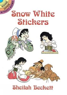 Snow White Stickers by Sheilah Beckett