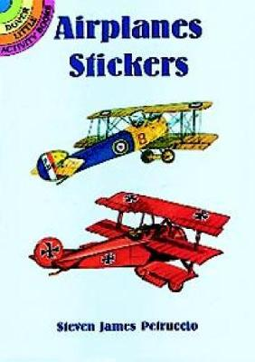 Airplanes Stickers by Steven James Petruccio