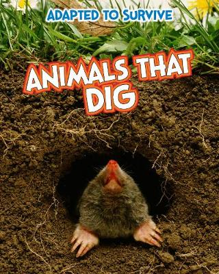 Adapted to Survive: Animals that Dig by Angela Royston
