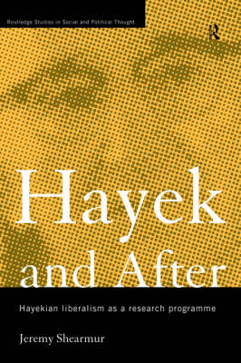 Hayek and After book