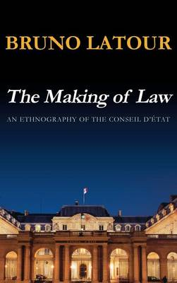 Making of Law by Bruno Latour