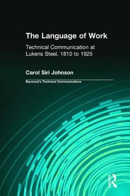 Language of Work book
