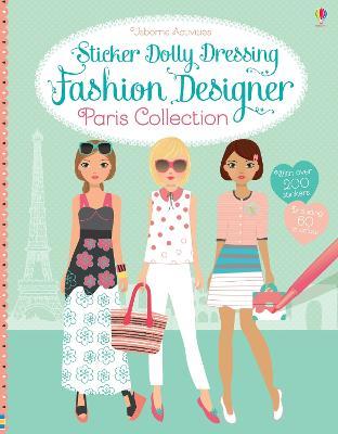 Sticker Dolly Dressing Fashion Designer Paris Collection by Fiona Watt