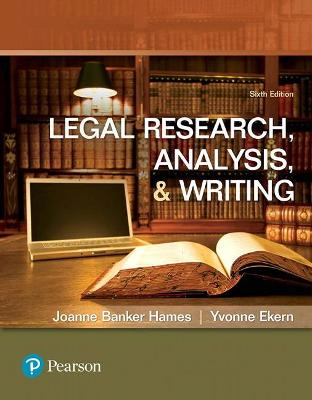 Legal Research, Analysis, and Writing book