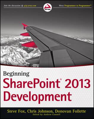 Beginning Sharepoint 2013 Development by Steven Fox