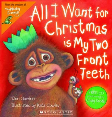All I Want For Christmas (with CD) book