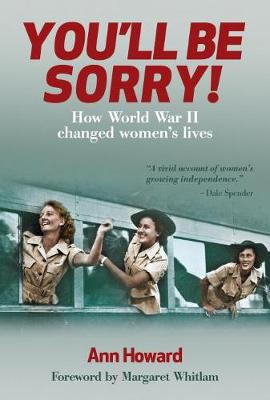 You'Ll be Sorry by Ann Howard