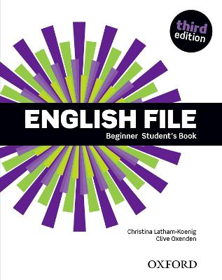 English File Beginner Student's Book book