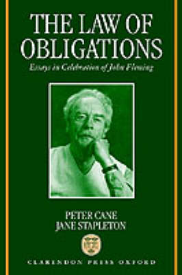 Law of Obligations by Peter Cane