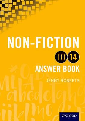 Non-fiction to 14 Answer Book by Jenny Roberts