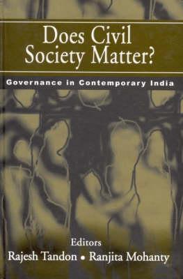 Does Civil Society Matter? by Rajesh Tandon