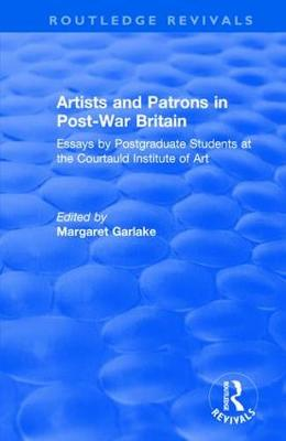 Artists and Patrons in Post-war Britain book
