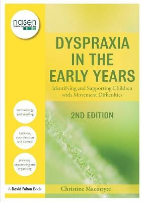 Dyspraxia in the Early Years book