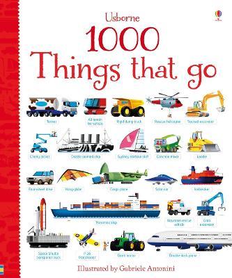 1000 Things That Go by Sam Taplin