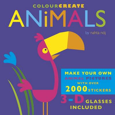 Colour Create: Animals by Jenny Broom
