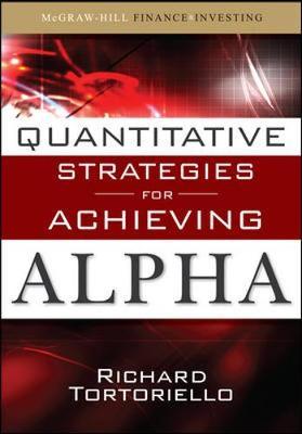 Quantitative Strategies for Achieving Alpha book