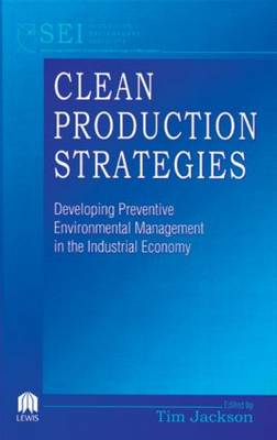 Clean Production Strategies by Tim Jackson