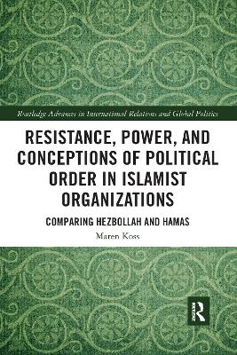 Resistance, Power and Conceptions of Political Order in Islamist Organizations: Comparing Hezbollah and Hamas by Maren Koss