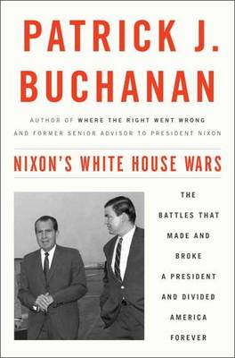 Nixon's White House Wars book