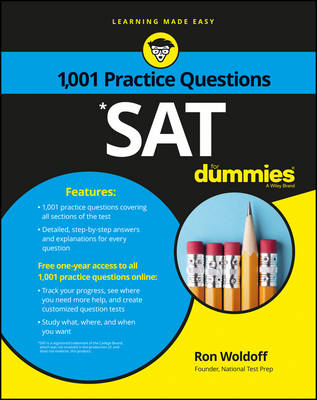 1,001 Sat Practice Questions for Dummies by Ron Woldoff