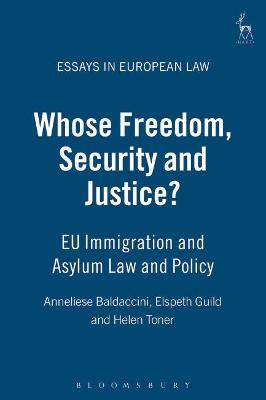 Whose Freedom, Security and Justice? book