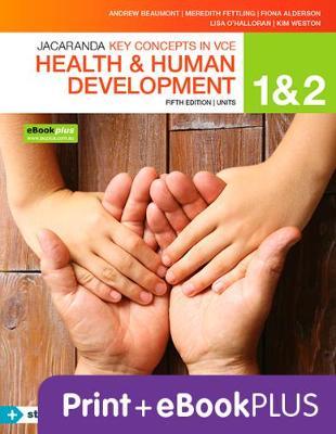Key Concepts VCE Health and Human Development Units 1&2 5E Ebk & Print+s/On book