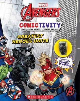 MARVEL AVENGERS COMICTIVITY book
