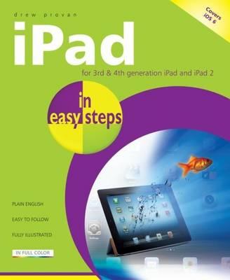iPad in Easy Steps 4e by Drew Provan