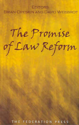 Promise of Law Reform by David Weisbrot
