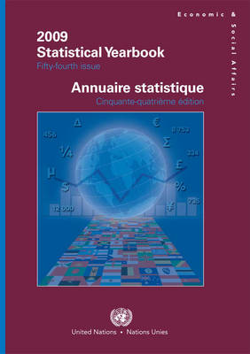 Statistical Yearbook by United Nations: Department of Economic and Social Affairs: Statistics Division