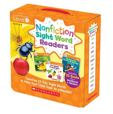 Nonfiction Sight Word Readers Parent Pack Level D by Liza Charlesworth