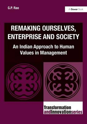 Remaking Ourselves, Enterprise and Society book
