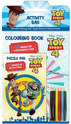 TOY STORY 4 ACTIVITY BAG book