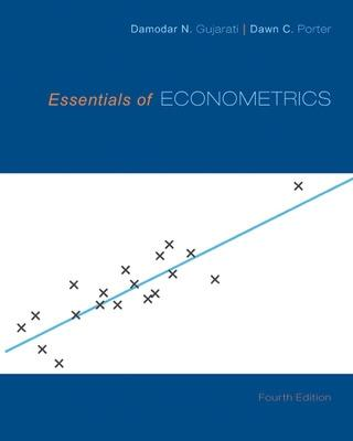 Essentials of Econometrics book